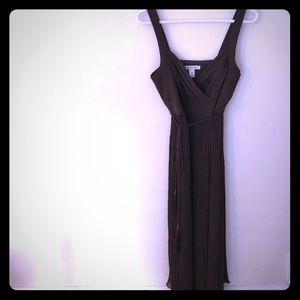 White House Black Market Pleated Dress